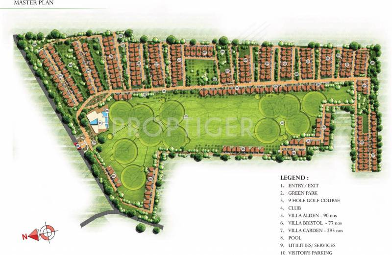 augusta-golf-village Images for Master Plan of Prestige Augusta Golf Village
