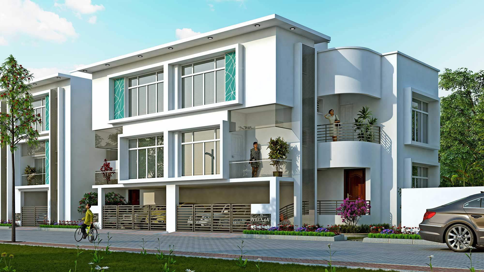 1106 sq ft 2 bhk 3t villa for sale in vijay raja classic for Classic house elevation