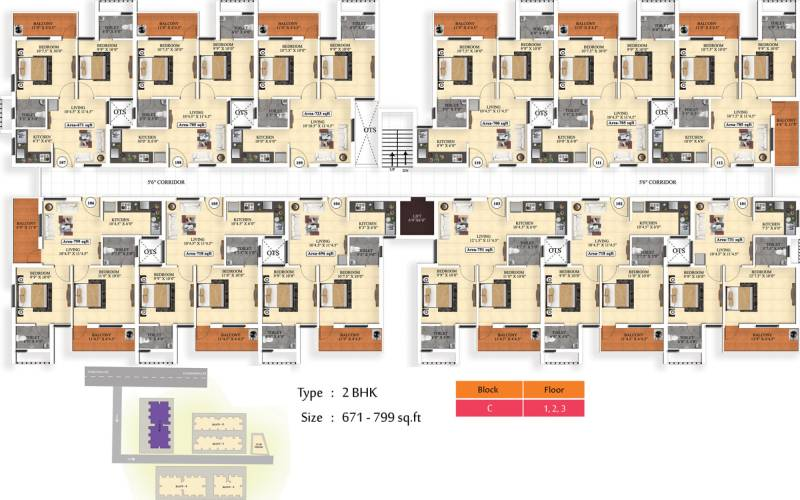 Images for Cluster Plan of Vijay Raja Ideal Homes