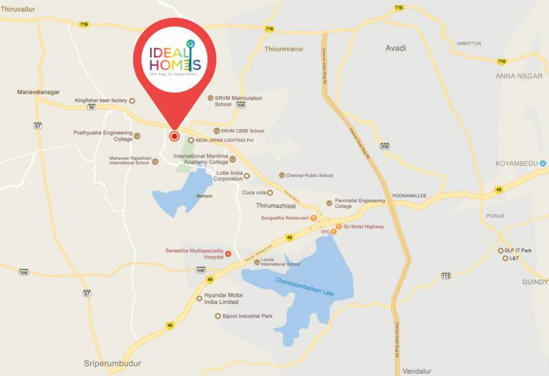 Images for Location Plan of Vijay Raja Ideal Homes