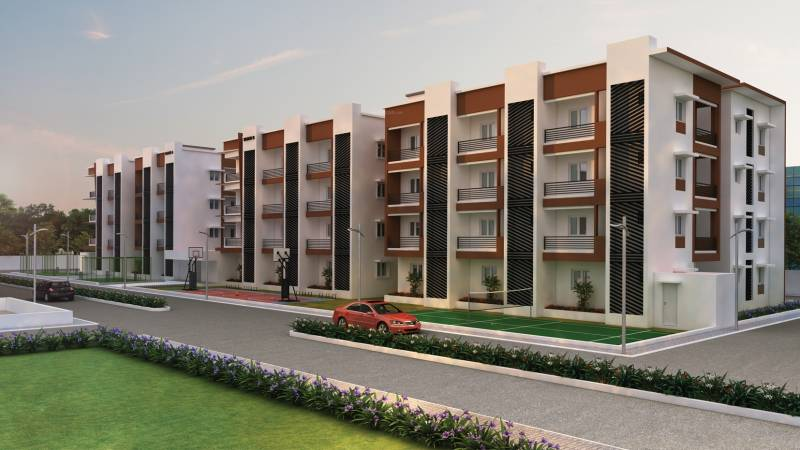 Images for Elevation of Vijay Raja Ideal Homes