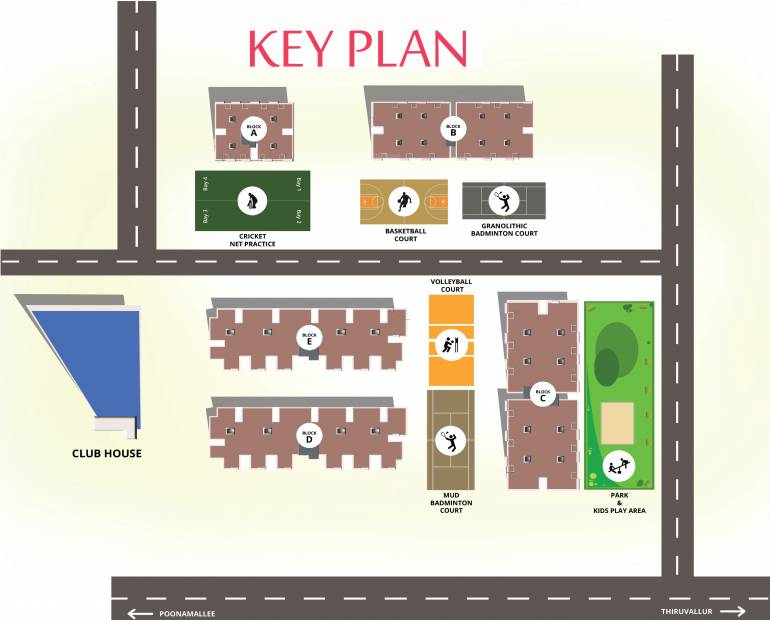 Images for Master Plan of Vijay Raja Ideal Homes