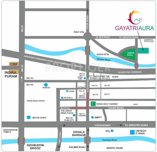 Images for Location Plan of Gayatri Aura