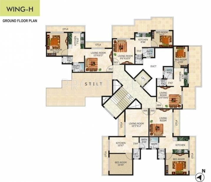 Images for Cluster Plan of Tulsi Kalash