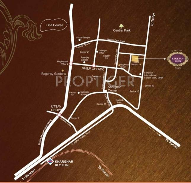 Images for Location Plan of Regency Group Icon