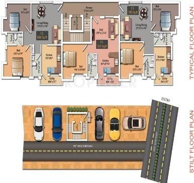 Images for Cluster Plan of AKM Rigid Developer Marvel Homes