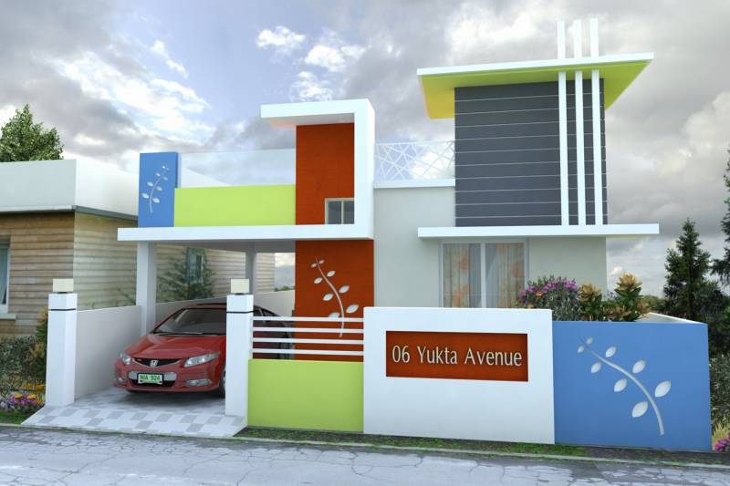 Images for Elevation of KK Yukta Avenue