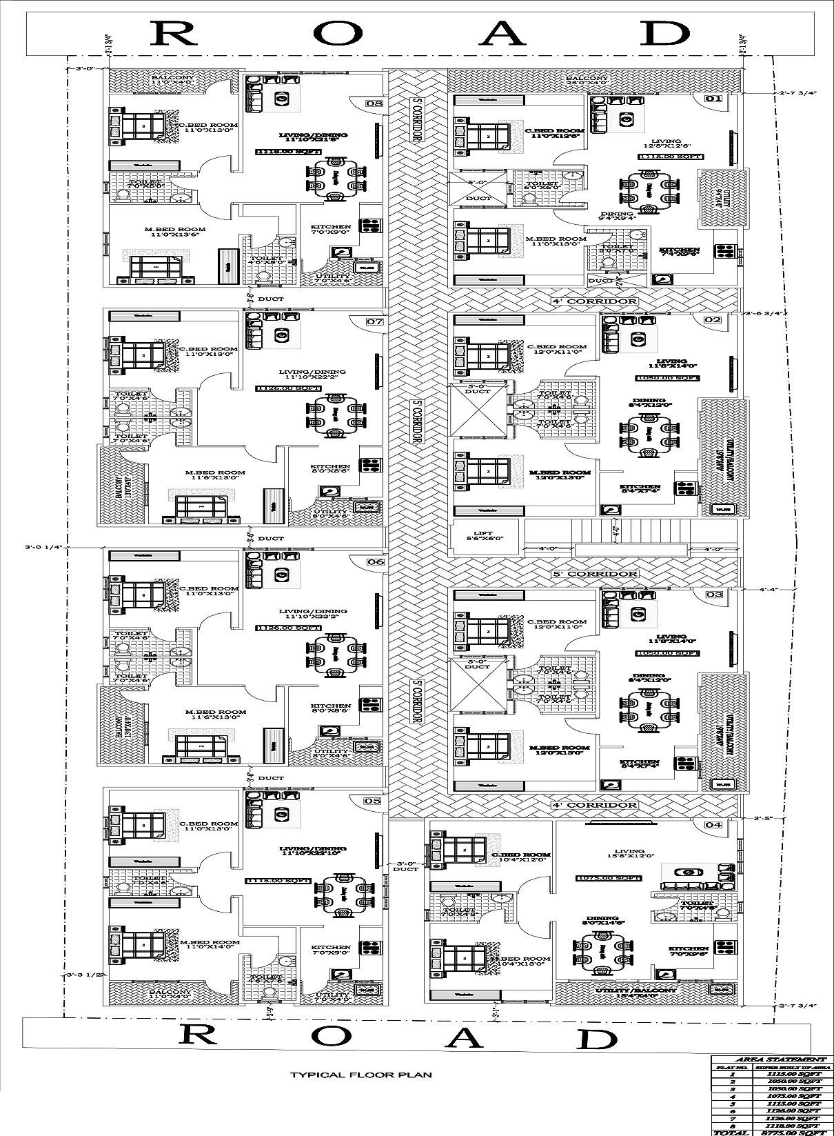 Vikhyath Citadel in KR Puram, Bangalore - Price, Location Map, Floor