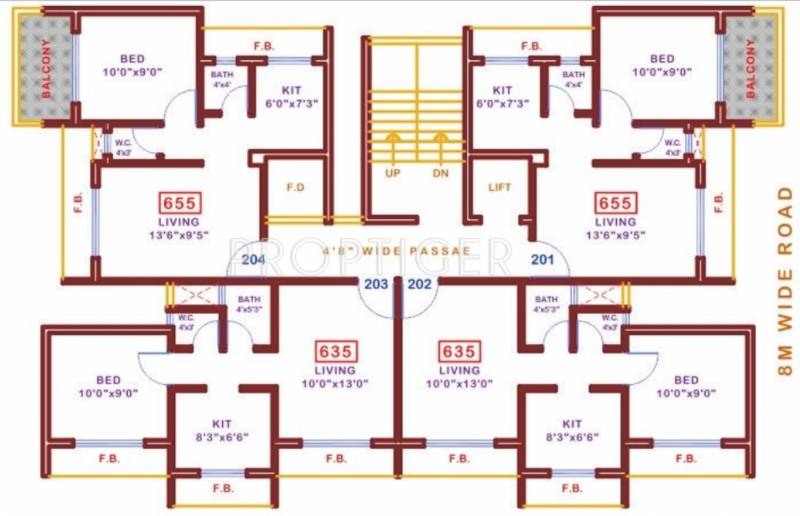 Images for Cluster Plan of Abode Sapphire Bliss