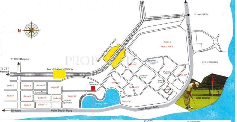 Images for Location Plan of Sadguru Platinum