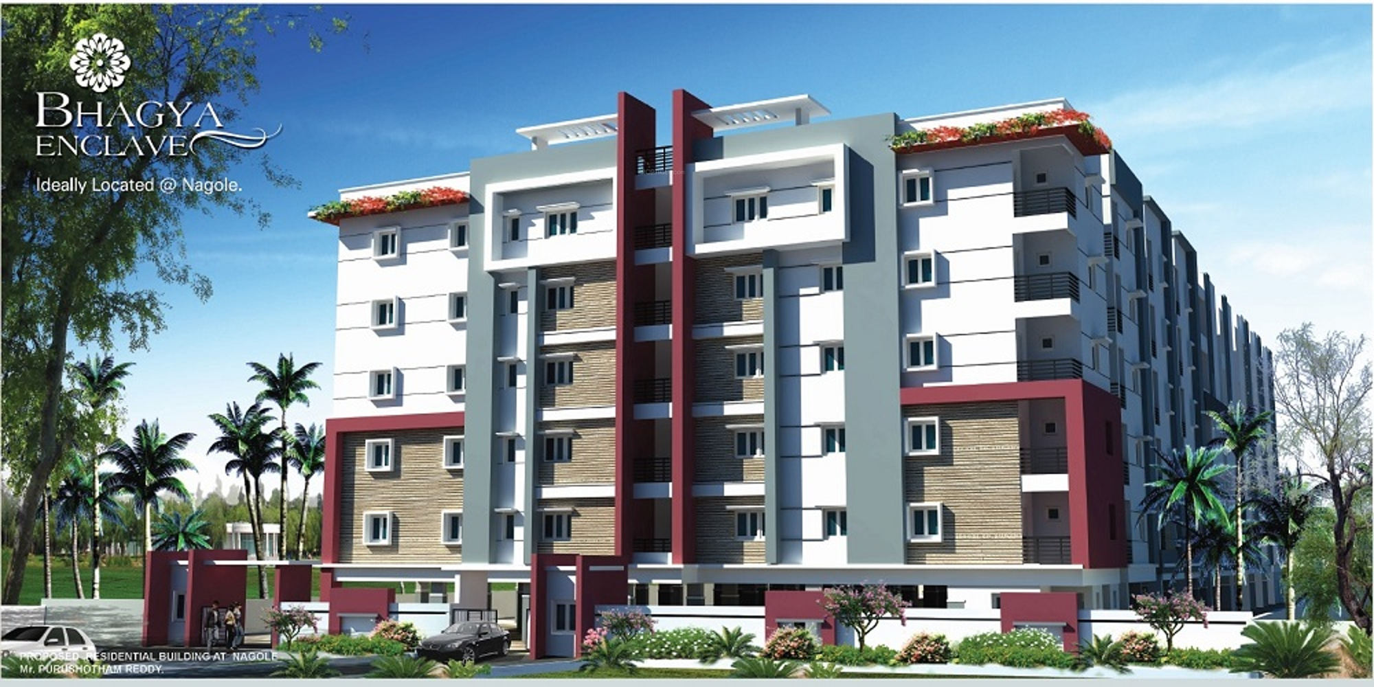 Comfort Living : 1190 sq ft 2 BHK 3T Apartment for Sale in Bhagya Sree ...