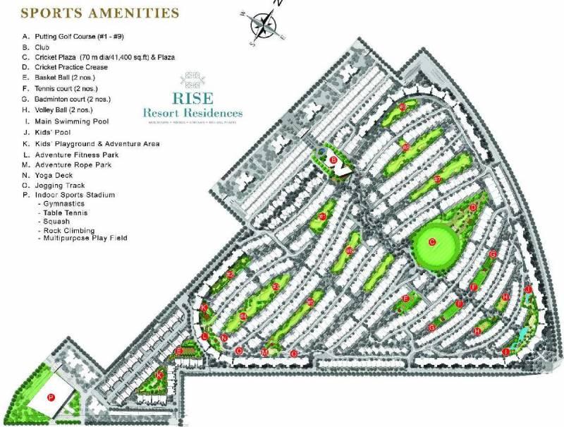 Images for Master Plan of Rise Resort Residence Villa