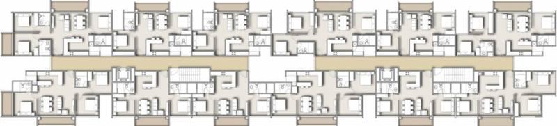 Images for Cluster Plan of Essar Vishwapriya Vertical Garden