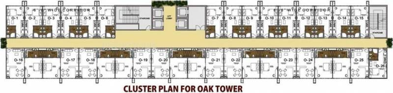 Images for Cluster Plan of Paramount Golfforeste Premium Apartments