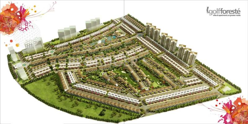 Images for Layout Plan of Paramount Golfforeste Premium Apartments