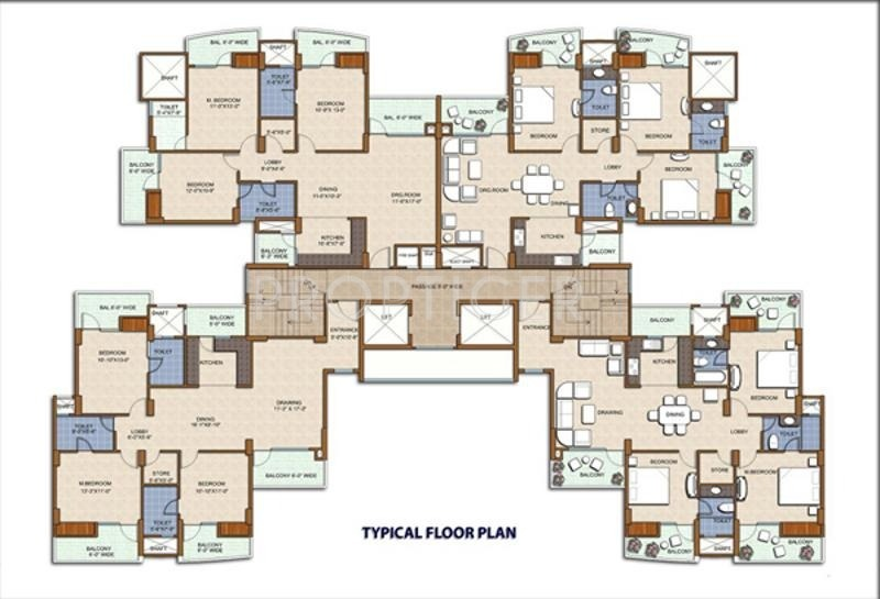Images for Cluster Plan of JM Housing Park Sapphire