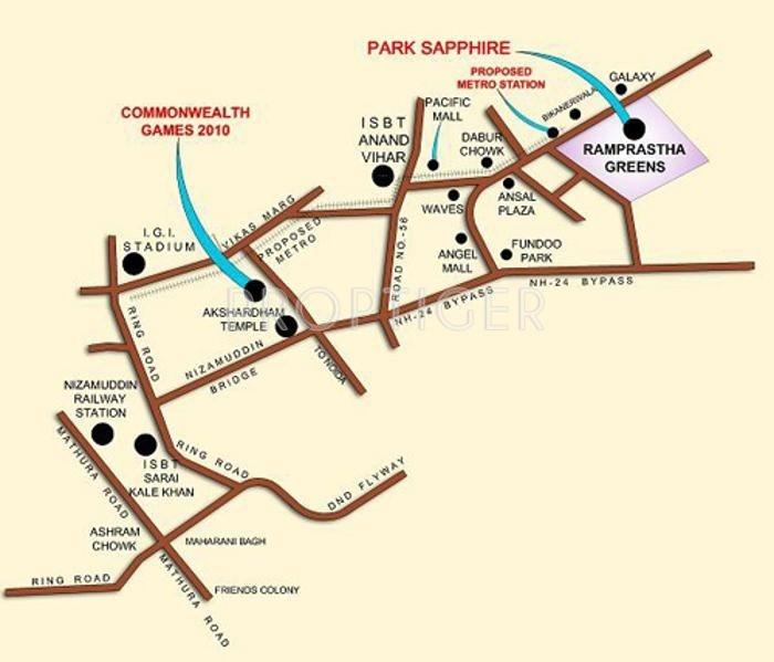park-sapphire Location Plan