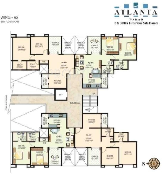 GK Atlanta in Wakad, Pune - Price, Location Map, Floor ...