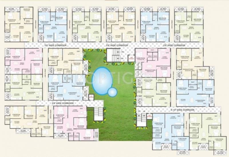 Images for Cluster Plan of Swami Vivekananda Developers Heights