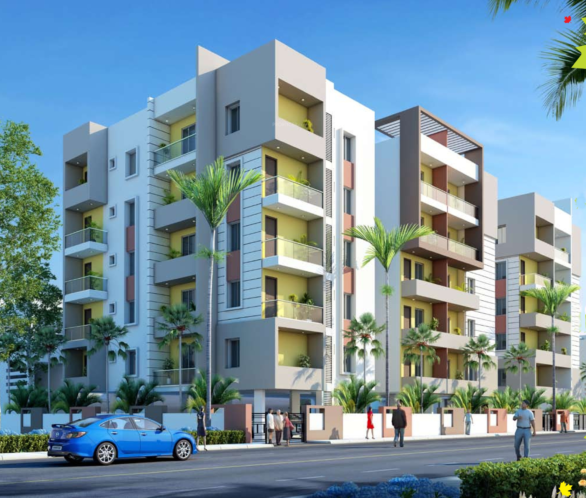 1275 Sq Ft 2 BHK 2T Apartment For Sale In Goldstone Maple