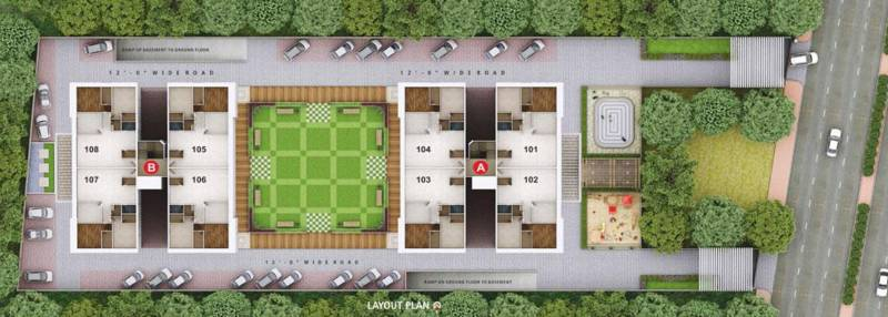 Images for Layout Plan of Someshwar Rivoli Heights