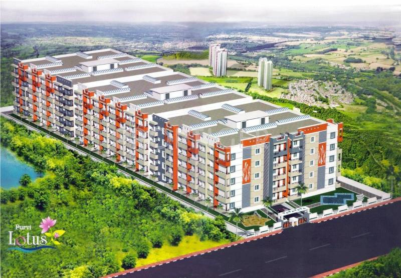 Images for Elevation of Sai Purvi Developers Purvi Lotus