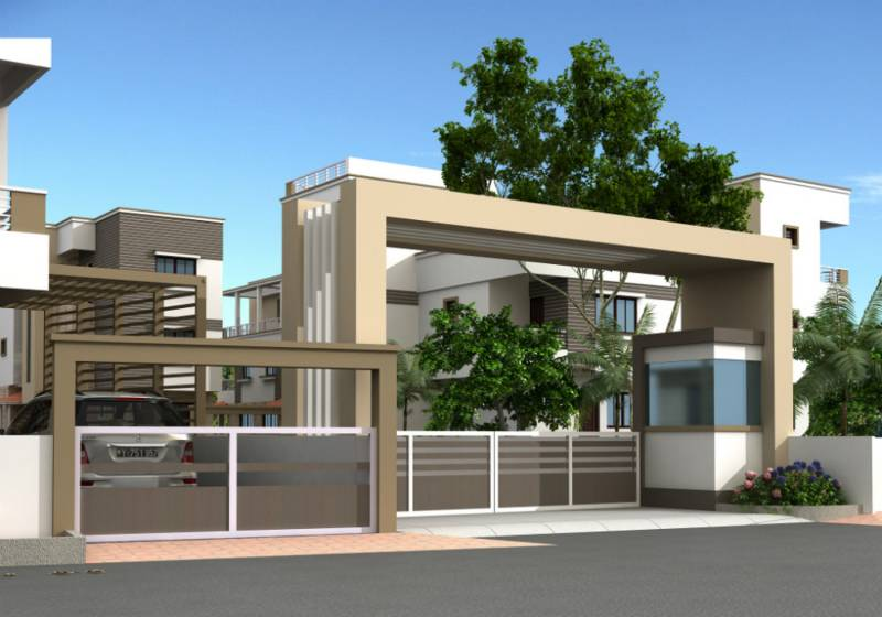 Images for Elevation of Shreeji Shreeji Villas