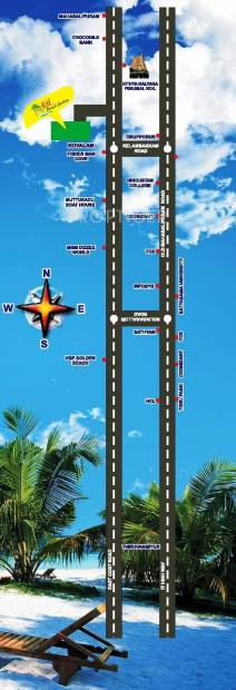 Images for Location Plan of City Raj Beach Garden