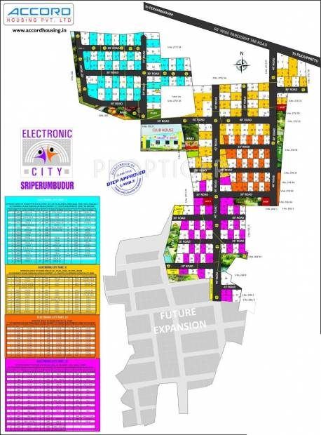 Images for Layout Plan of Accord Electronic City