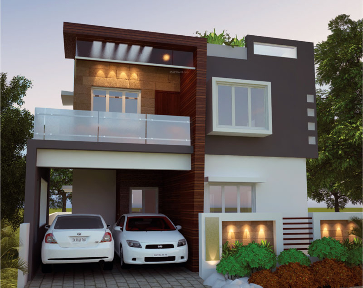 Main Elevation Image 2 Of M R Adithya Developers Windsor Park Unit Available At Thudiyalur