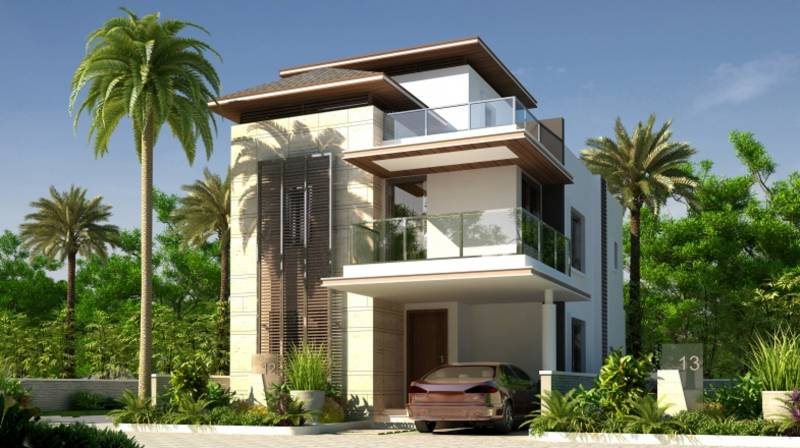Images for Elevation of Mahaveer Villas Of The World
