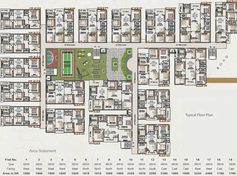 Images for Cluster Plan of Happy Vasanthaa Happy Homes Nest