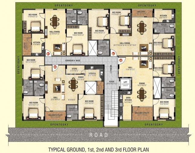 Images for Cluster Plan of Shravanthi Alpyne