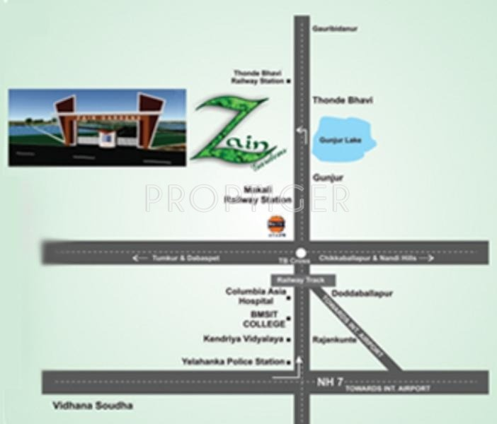 Images for Location Plan of Zain Gardens