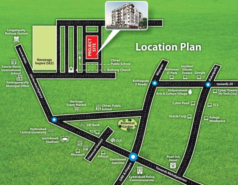 Images for Location Plan of Infocity Jewel