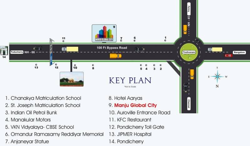 Images for Location Plan of Manju Global City