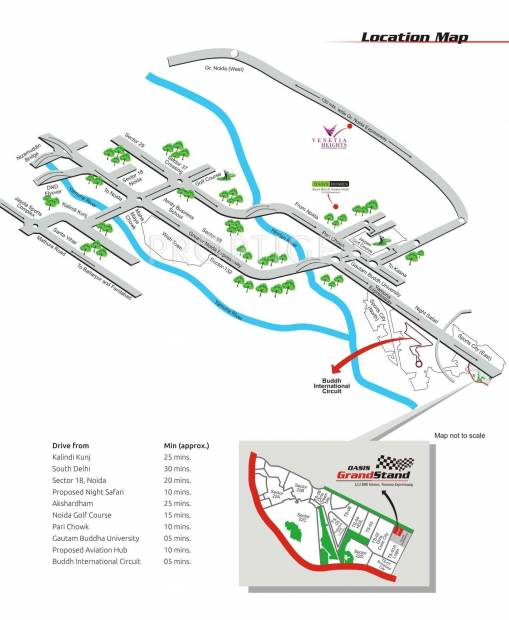 Images for Location Plan of Oasis Grandstand