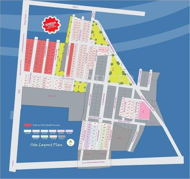 1500 sq ft plot for sale in capita land realty caroline springs marsur bangalore for Caroline springs swimming pool