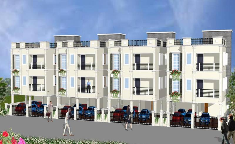 Images for Elevation of SKC Saraswathy Homes