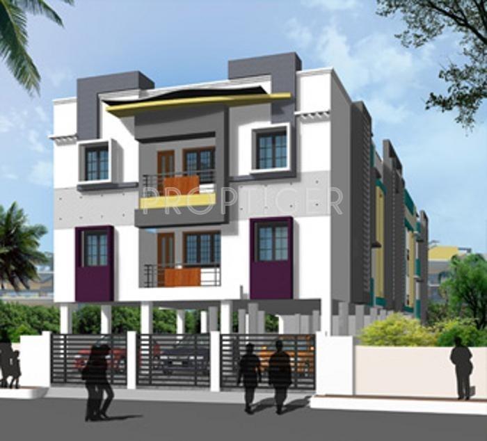 1265 Sq Ft 3 Bhk 2t Apartment For Sale In Vinoth Venera Koyambedu Chennai