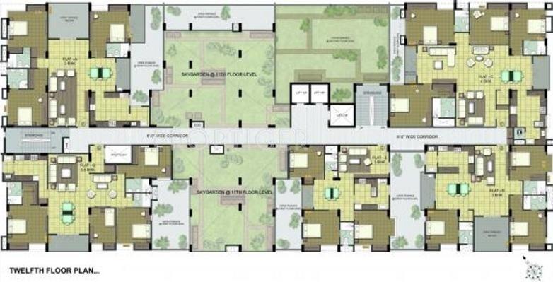 Images for Cluster Plan of Ramaniyam Real Estates Isha