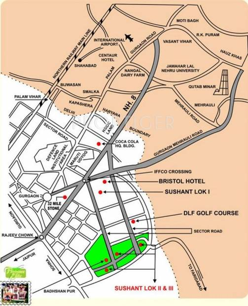 Images for Location Plan of Ansal Florence Elite