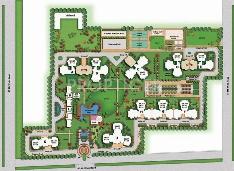 Images for Layout Plan of BPTP Discovery Park