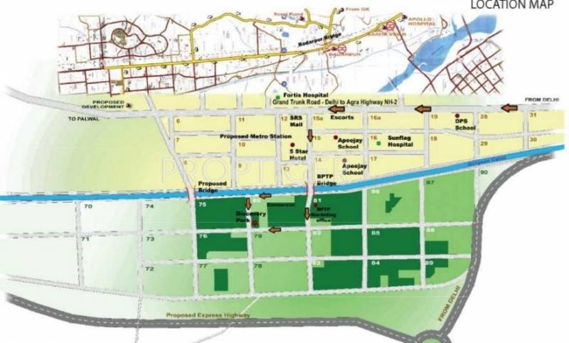Images for Location Plan of BPTP Discovery Park