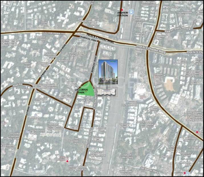park-vistas Images for Location Plan of Bharat Park Vistas