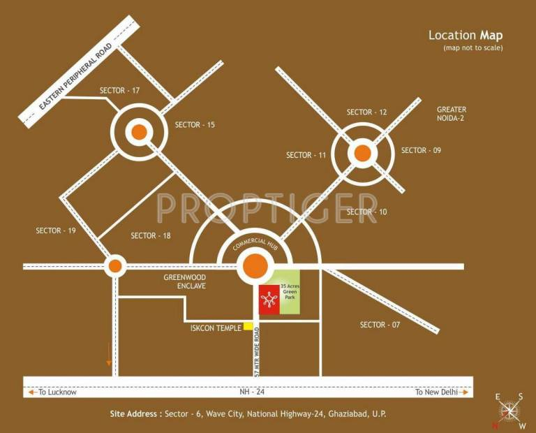 Images for Location Plan of Adarsh Mantra Meadows