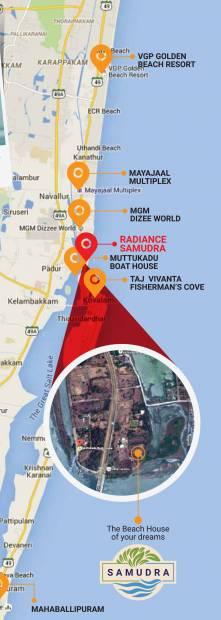 Images for Location Plan of Radiance Samudra