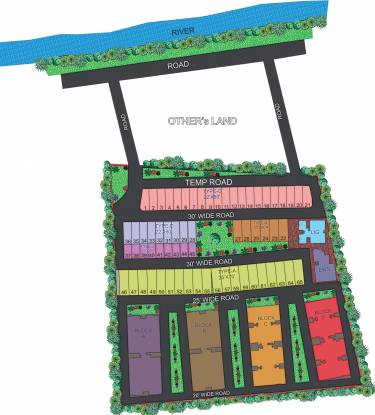 Images for Site Plan of Agrawal Sagar Green Hills