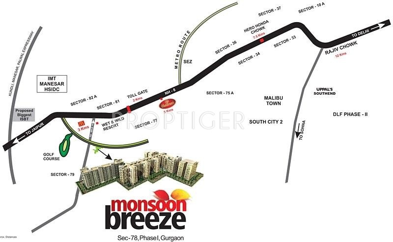 monsoon-breeze Images for Location Plan of Umang Monsoon Breeze