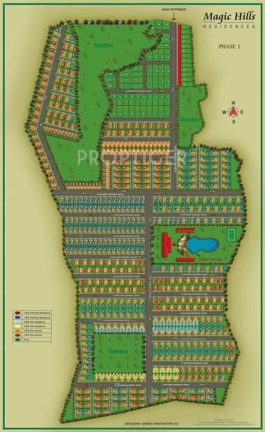 Images for Layout Plan of Garnet Magic Hills